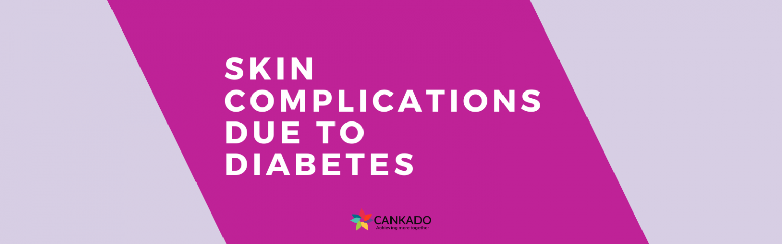 skin complications due to diabetes